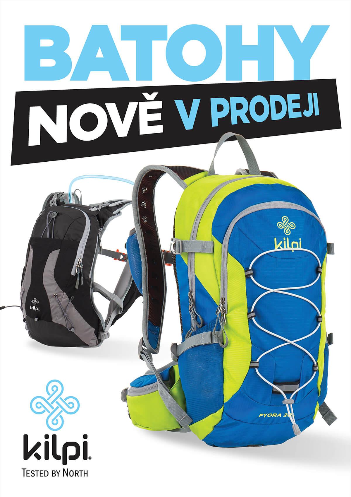 Batohy zakoupíte již nyní v prodejnách KILPI STORE a v našem e-shopu  www.shopkilpi.cz. 3d686a50f1