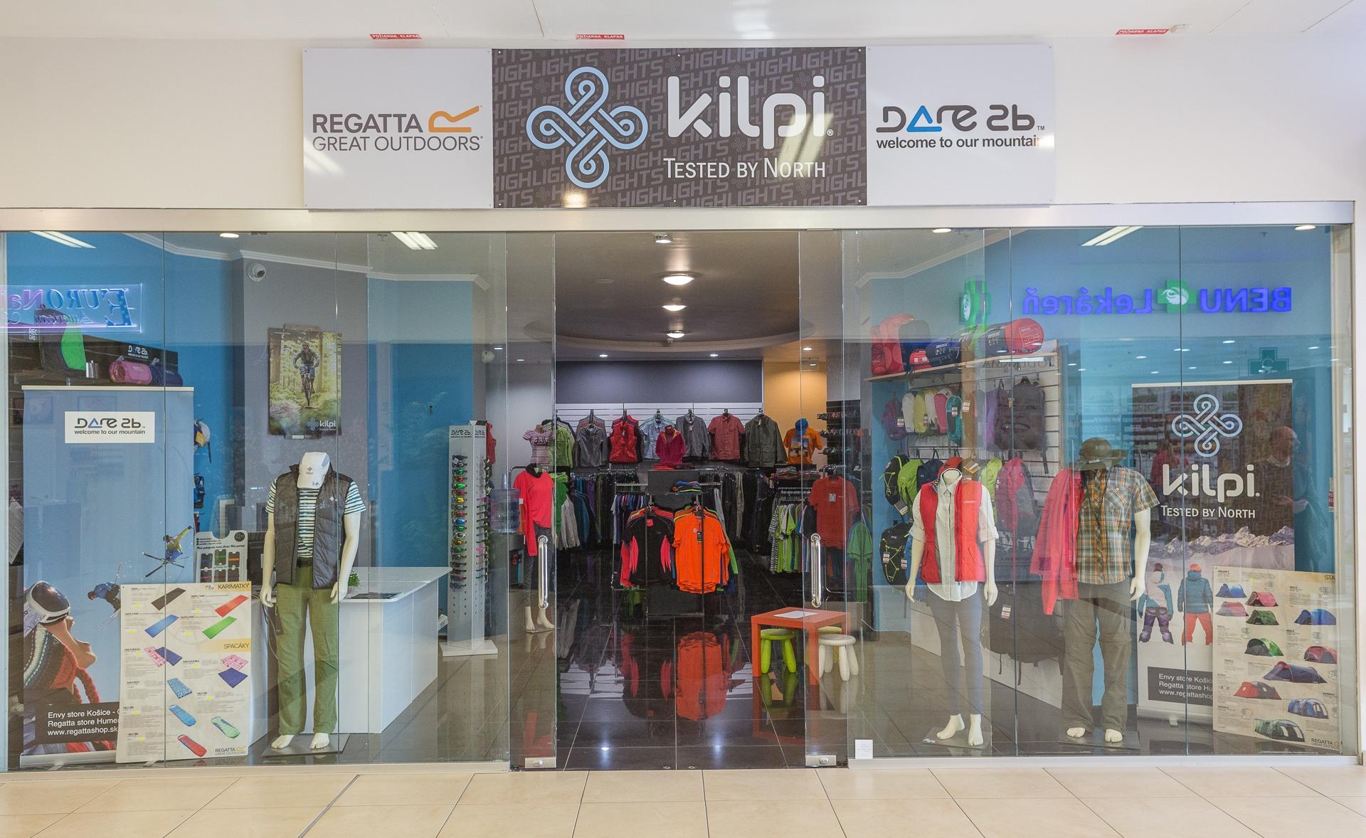 KILPI STORE - Košice - OC Galeria - Kilpi 43d63115d83